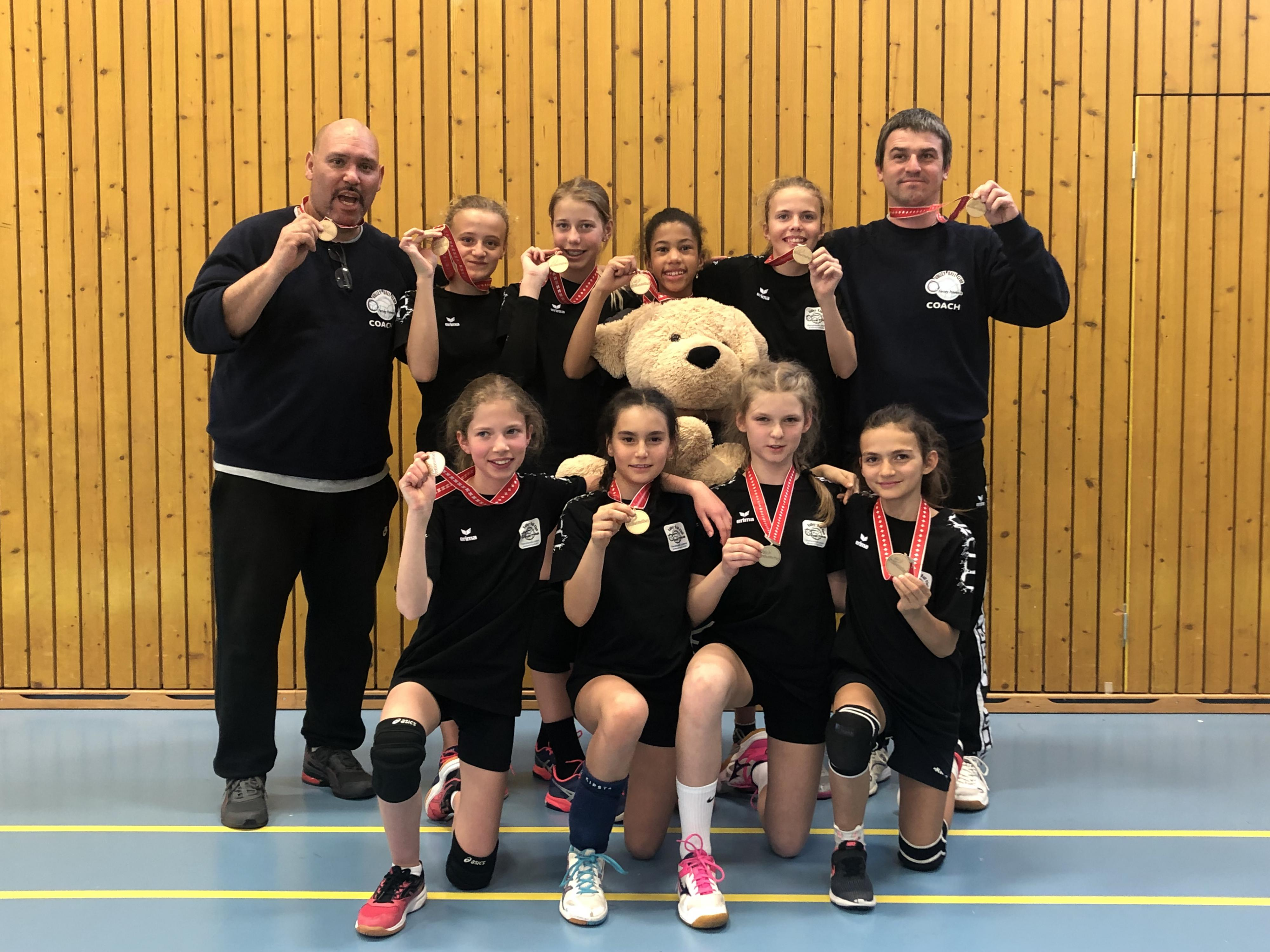U13 3ème place Championnat suisse